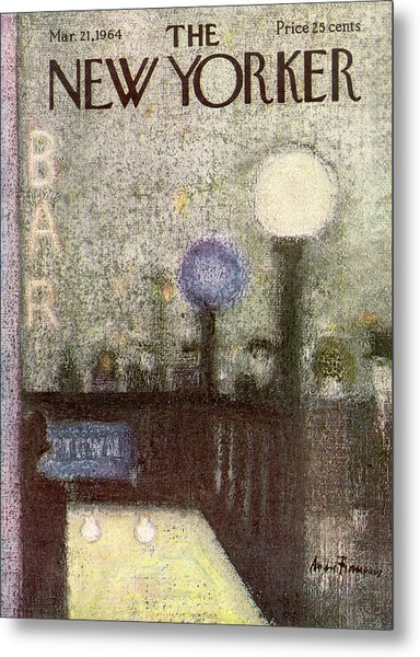 New Yorker March 21st, 1964 Metal Print by Andre Francois