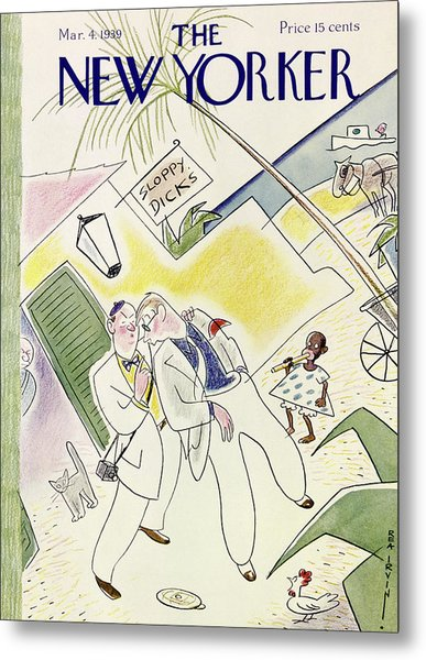 New Yorker March 4 1939 Metal Print