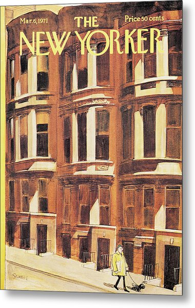 New Yorker March 6th, 1971 Metal Print