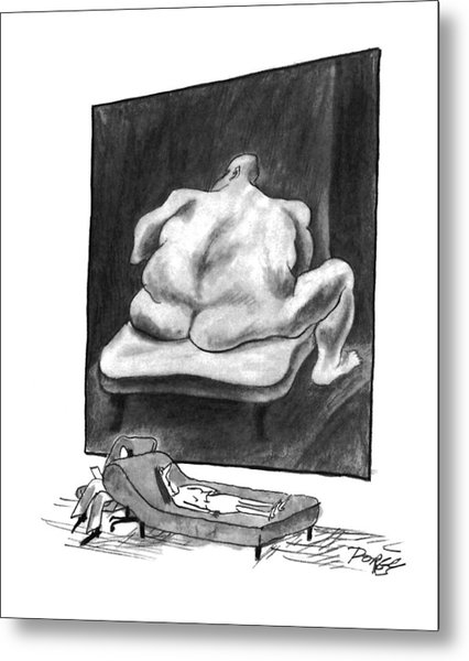 New Yorker March 7th, 1994 Metal Print