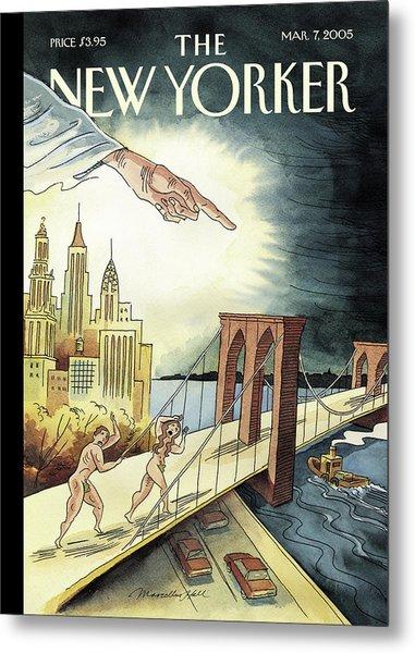 New Yorker March 7, 2005 Metal Print
