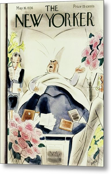 New Yorker May 16 1936 Metal Print by Leonard Dove