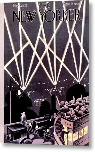 New Yorker May 16th, 1931 Metal Print