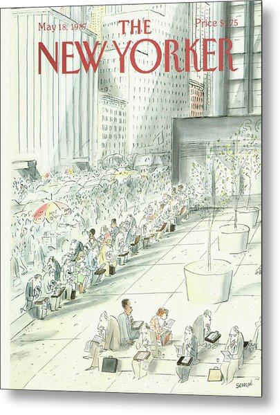 New Yorker May 18th, 1987 Metal Print