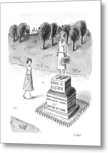 New Yorker May 18th, 1987 Metal Print