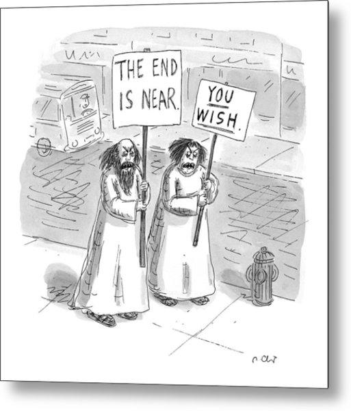New Yorker May 19th, 1997 Metal Print
