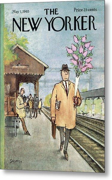 New Yorker May 1st, 1965 Metal Print