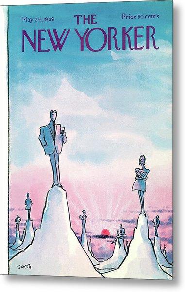 New Yorker May 24th, 1969 Metal Print