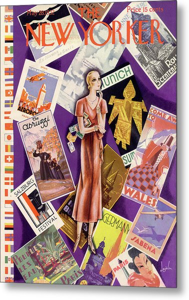 New Yorker May 28th, 1932 Metal Print