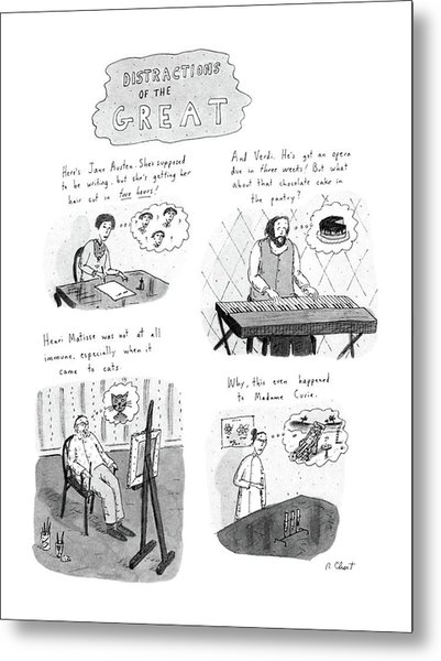 New Yorker November 10th, 1986 Metal Print