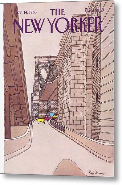 New Yorker November 14th, 1983 Metal Print