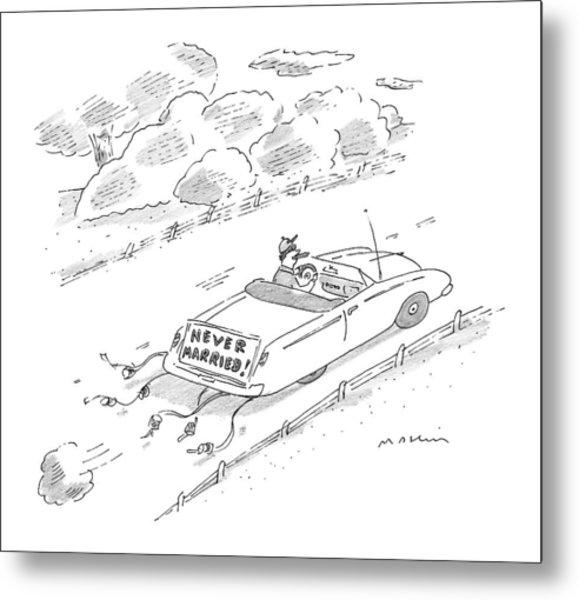 New Yorker November 16th, 1998 Metal Print