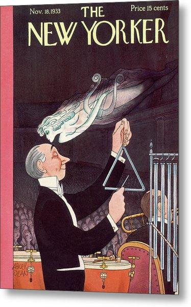 New Yorker November 18th, 1933 Metal Print