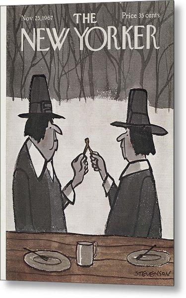 New Yorker November 25th, 1967 Metal Print