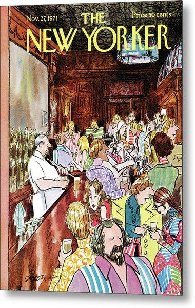 New Yorker November 27th, 1971 Metal Print