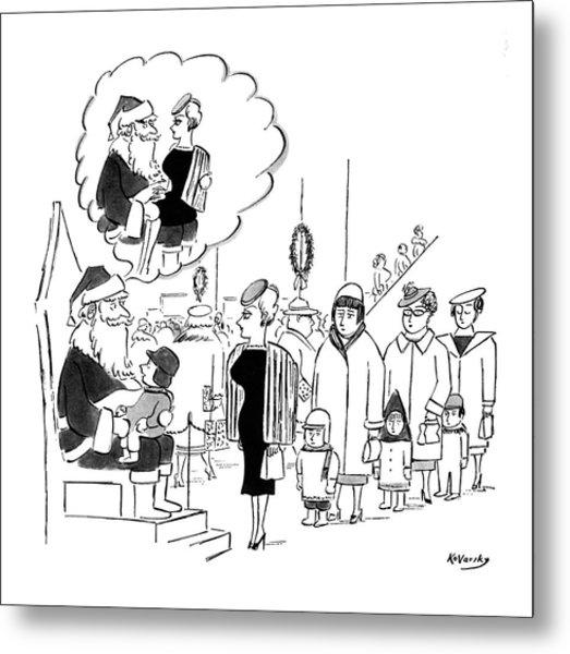 New Yorker November 28th, 1959 Metal Print
