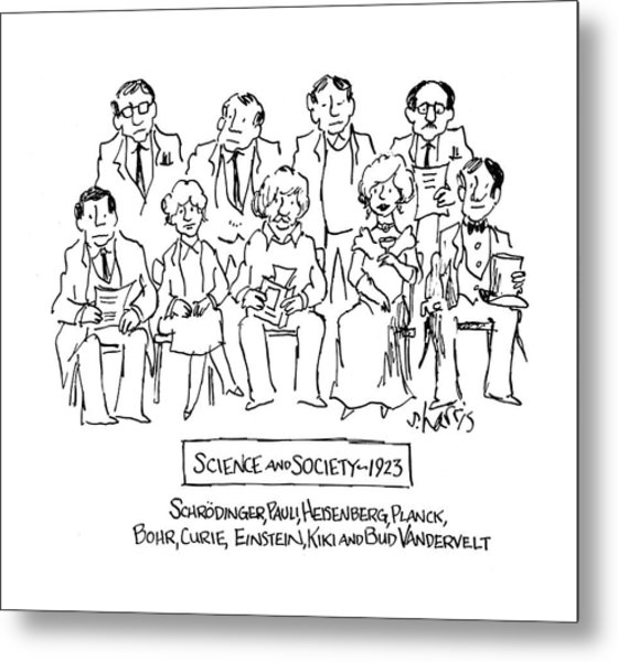 New Yorker November 28th, 1983 Metal Print