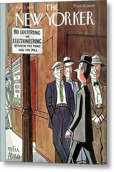 New Yorker November 2nd, 1940 Metal Print