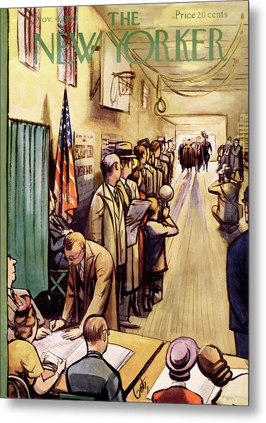 New Yorker November 4th, 1950 Metal Print