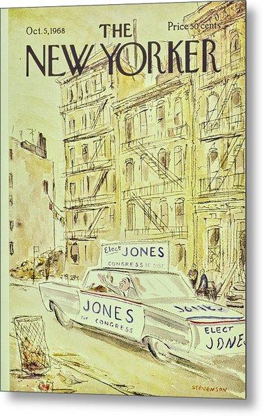 New Yorker November 5th 1968 Metal Print