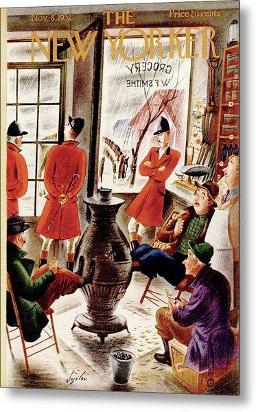 New Yorker November 8th, 1952 Metal Print