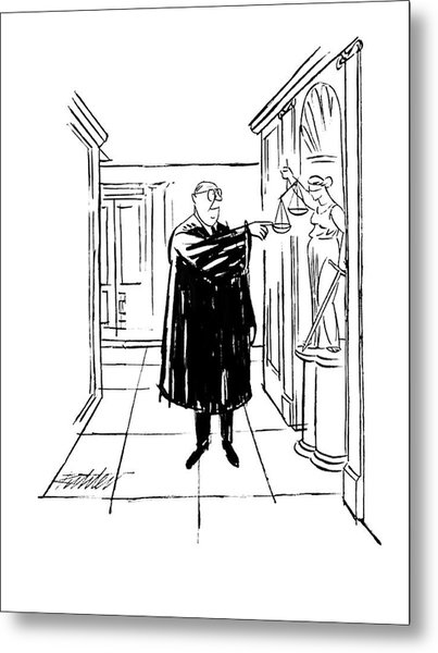 New Yorker November 9th, 1963 Metal Print
