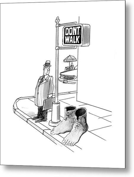 New Yorker October 12th, 1992 Metal Print