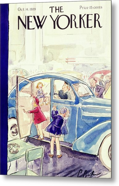 New Yorker October 14 1939 Metal Print