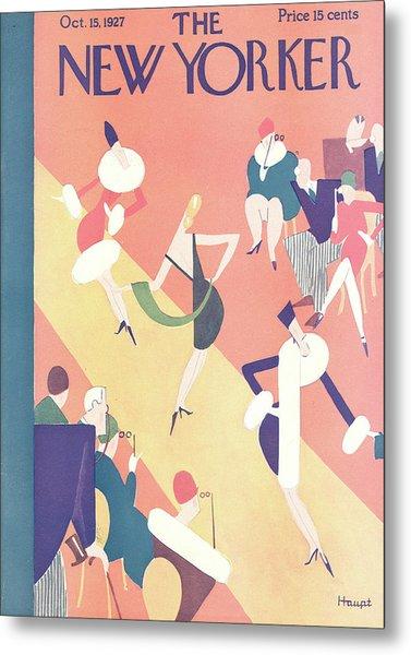 New Yorker October 15th, 1927 Metal Print