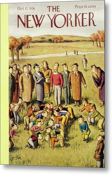 New Yorker October 17 1936 Metal Print