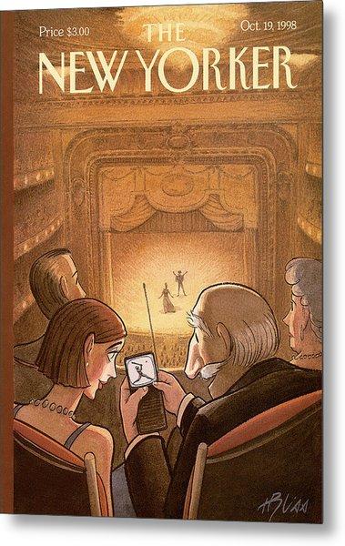 New Yorker October 19th, 1998 Metal Print