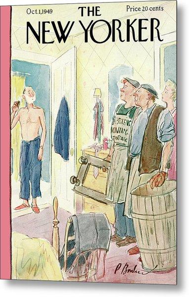 New Yorker October 1st, 1949 Metal Print