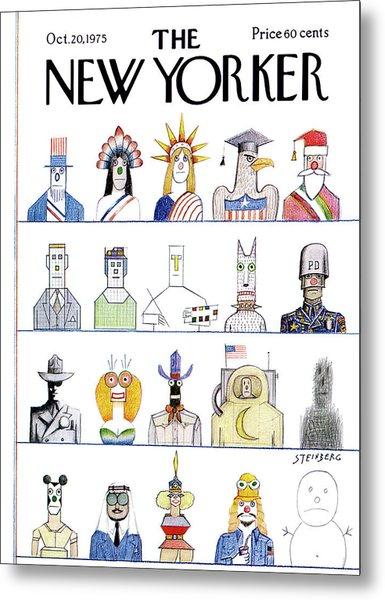 New Yorker October 20th, 1975 Metal Print