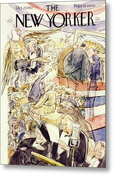 New Yorker October 23 1937 Metal Print