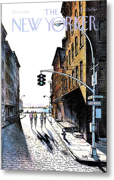 New Yorker October 2nd, 1978 Metal Print