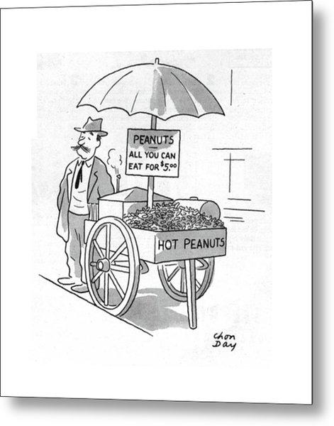 New Yorker October 7th, 1944 Metal Print