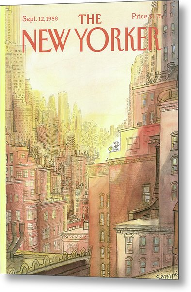 New Yorker September 12th, 1988 Metal Print
