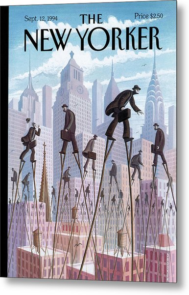 New Yorker September 12th, 1994 Metal Print by Eric Drooker