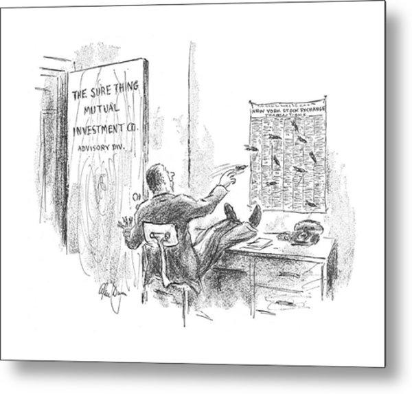 New Yorker September 16th, 1967 Metal Print