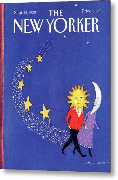 New Yorker September 19th, 1988 Metal Print