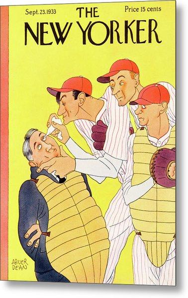 New Yorker September 23rd, 1933 Metal Print by Abner Dean