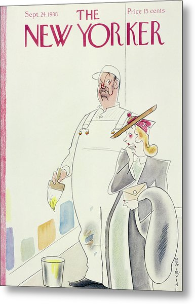 New Yorker September 24 1938 Metal Print