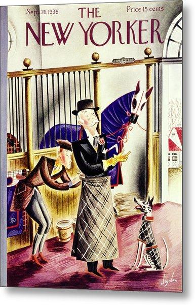 New Yorker September 26 1936 Metal Print