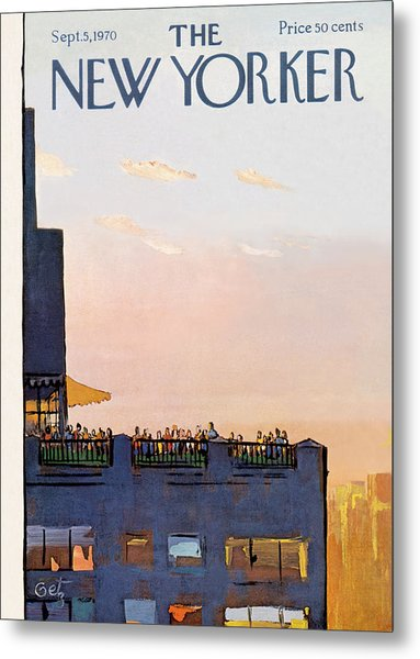 New Yorker September 5th, 1970 Metal Print