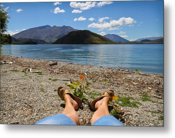 New Zealand Christmas Metal Print