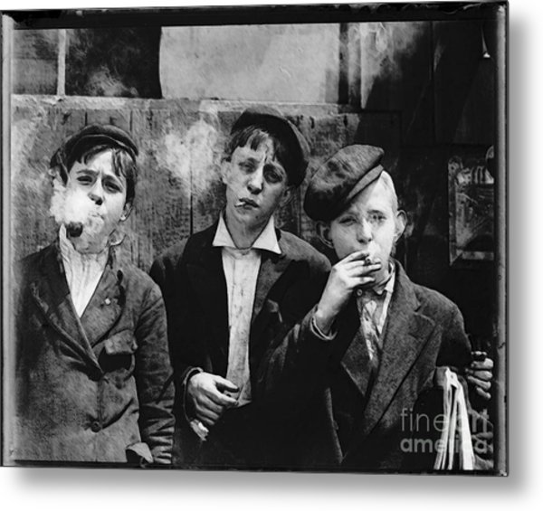 Newsies At Skeeter Branch Metal Print
