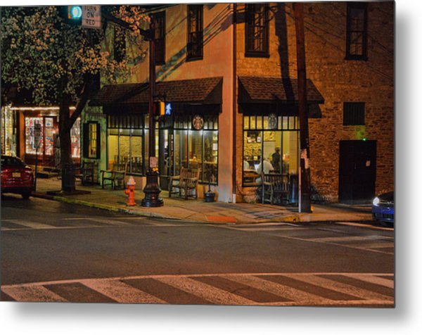 Newtown Nighthawks Metal Print