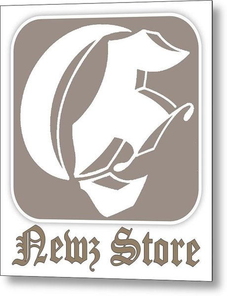 Eclipse Newspaper Store Logo Metal Print