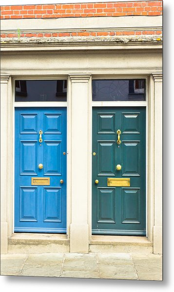 Next Door Neighbours Metal Print