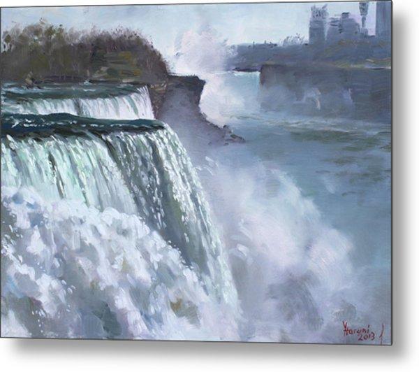 Niagara American Falls Metal Print